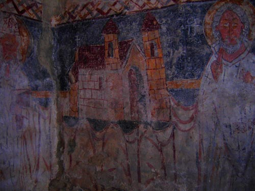 Strei church paintings